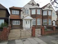 semi detached house in Cecil Road, West Acton...