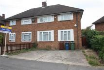 3 bedroom semi detached property to rent in Newbolt Road, STANMORE