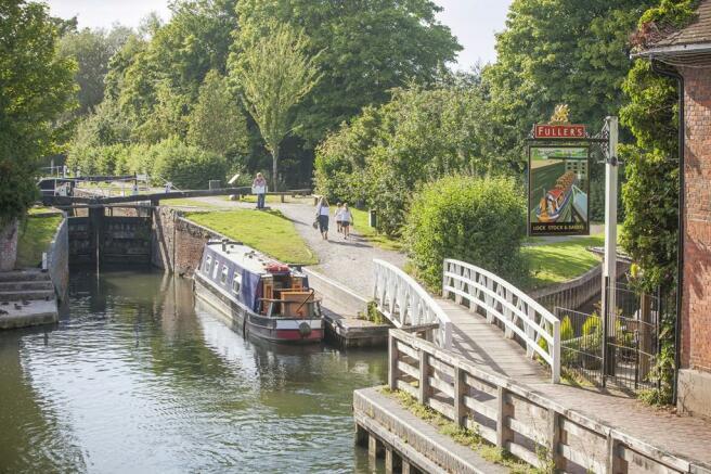 Canal at Newbury