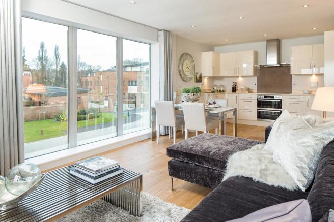 The apartments at Newbury Racecourse