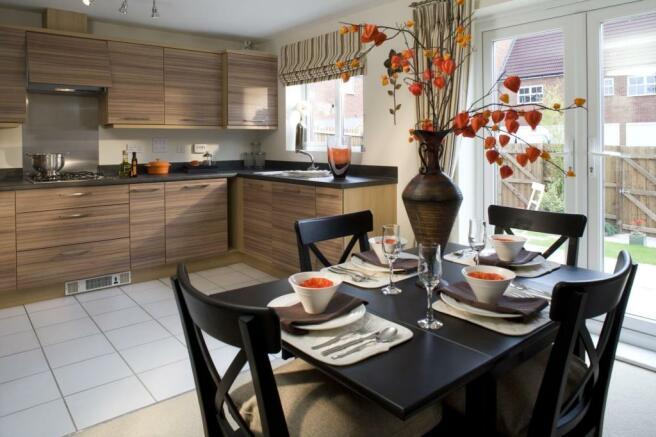 Archford Kitchen Wepre Green