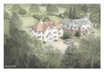 new development for sale in Prestbury Road, Wilmslow...