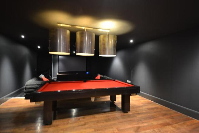 Cinema/Games room