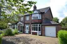 semi detached house in Boundary Lane, Congleton...