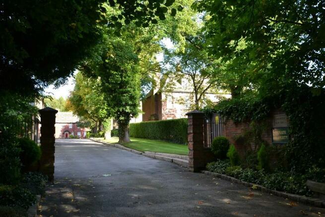 External driveway