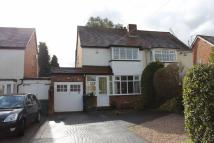 2 bedroom semi detached property for sale in Longdon Road, Knowle