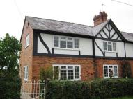 semi detached house in Chorlton Cottage...