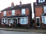 semi detached property in Trafalgar Road, Horsham...