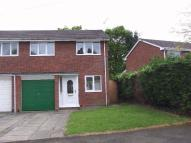 semi detached home in Rectory Close, Wistaston