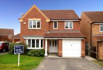 Detached home for sale in Dunster Close, Grantham...