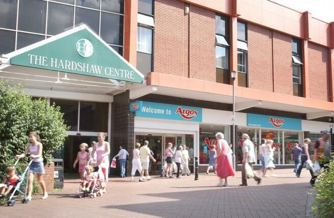Hardshaw Centre Car Park