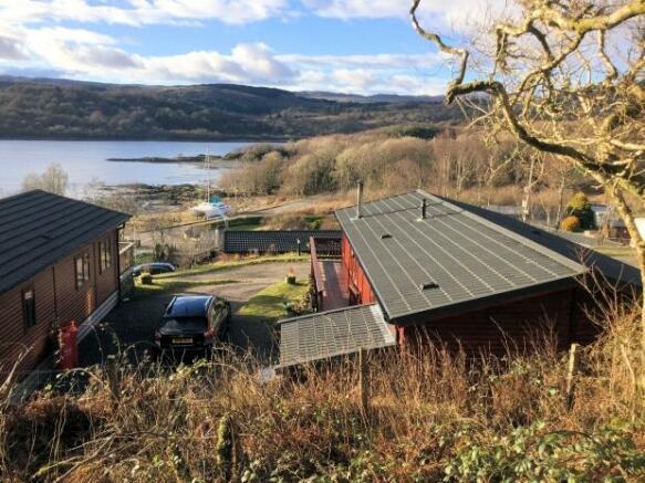 3 Bedroom Log Cabin For Sale In West Loch Shores Tarbert