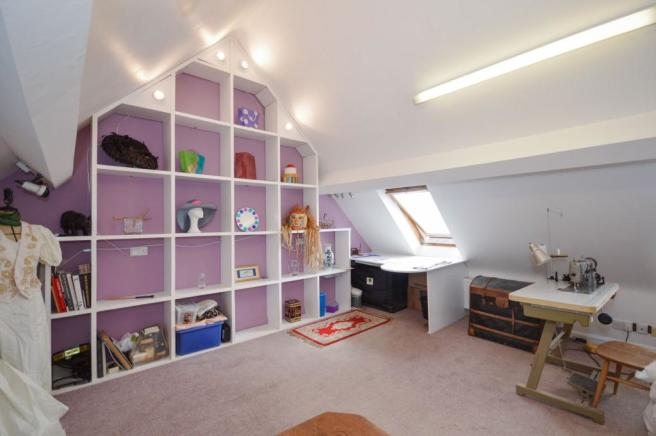 Hobby room / bedroom 4