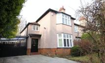 semi detached property for sale in Menlove Gardens West...