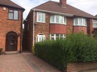 Waddington Avenue semi detached house to rent