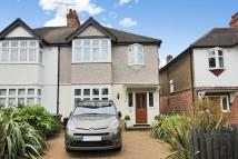 3 bed semi detached house in Heath Drive, Raynes Park