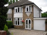3 bed semi detached house in Colebourne Road Moseley...