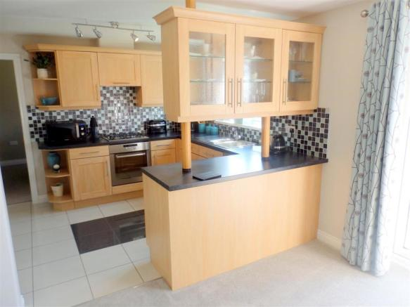 Kitchen With Dining/