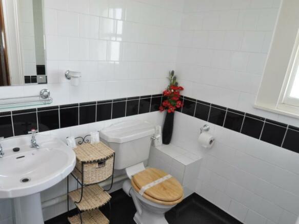 Cottage 2 - Shower room