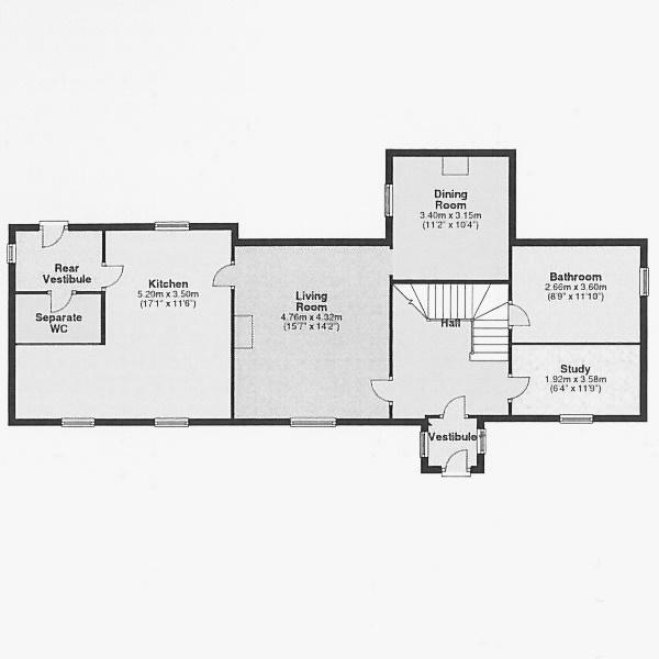Old Manse - Ground floor
