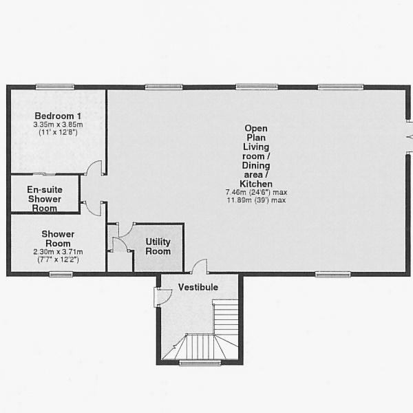 The Kirk - Ground floor