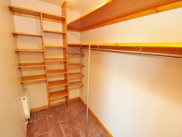 Bedroom 1 dressing room