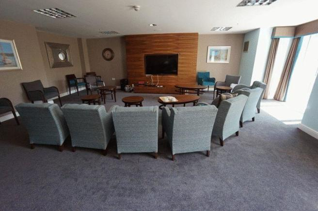 Residents TV Area