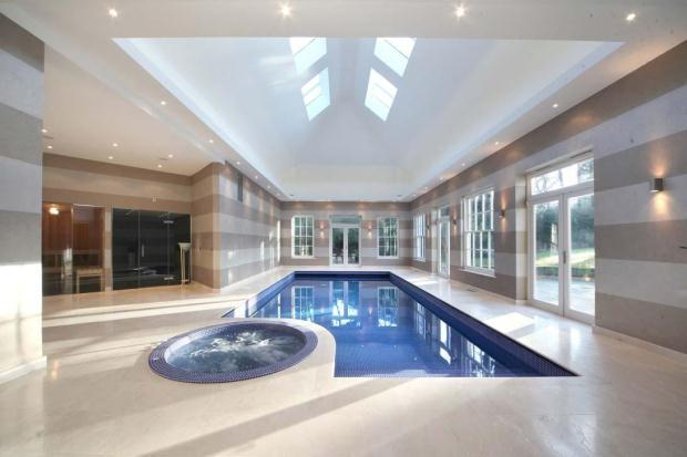 7 Bedroom Detached House For Sale In Warreners Lane Weybridge Surrey Kt13