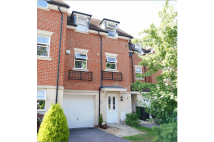 Terraced home for sale in Hawthorn Way, Bordon...