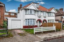 Chestnut Grove semi detached property to rent