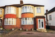 semi detached house for sale in Woodfall Avenue, Barnet...