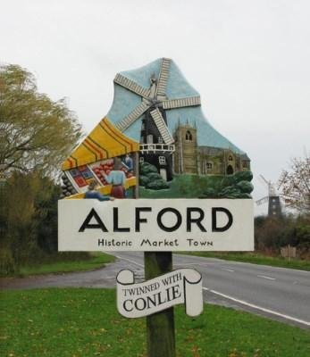 Market Town Sign