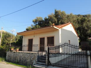 House from street