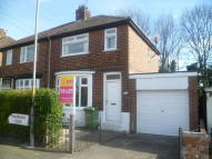 2 bedroom semi detached home in Swinburn Road, Norton...