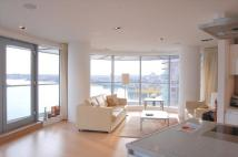 Flat to rent in New Providence Wharf...