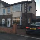 End of Terrace house in 22 Queens Road, Preston...