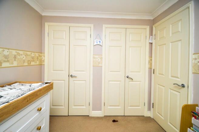 Bedroom Three wardro