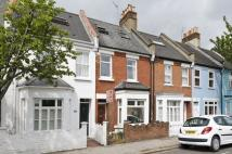 Terraced home in Lefroy Road...