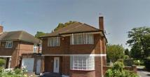 Ashbourne Road Detached house to rent