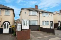 semi detached home for sale in Witton Lane...
