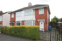 semi detached home to rent in Hayes Avenue, DERBY