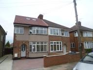 Ribblesdale Avenue semi detached property to rent