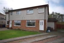 semi detached home in Millfield Wynd, Erskine