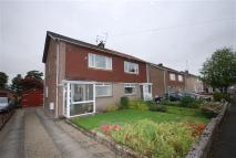 semi detached property in Broompark Drive...