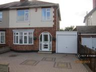 3 bed semi detached property to rent in Wigston Road, Leicester...