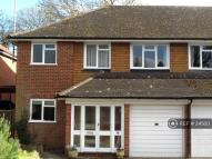 semi detached property in Northbrook Drive...