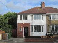 semi detached property to rent in Waverley Road, Hoylake...