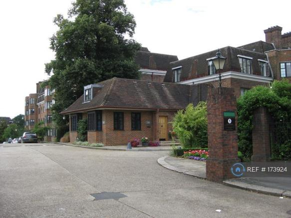 Entrance To Manor Fields Estate