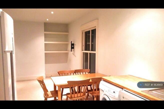Living Room / Kitchen At Night