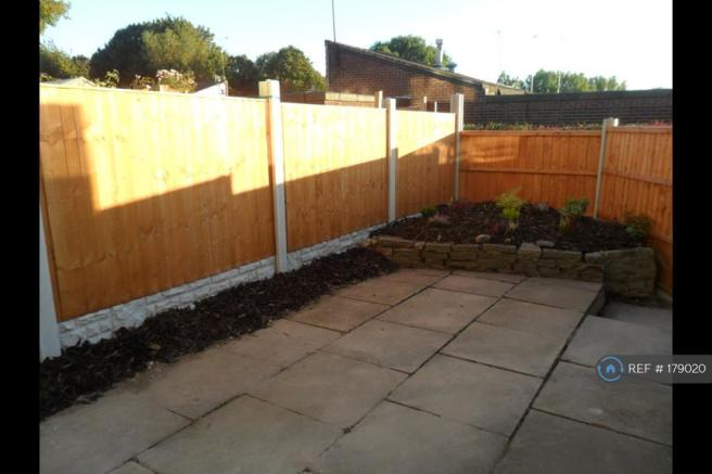 Easy To Maintain Rear Garden
